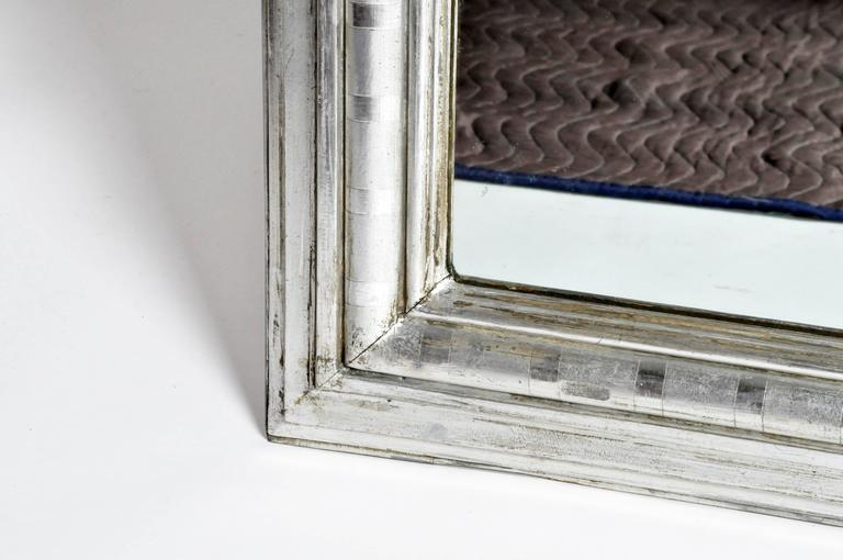 Silver leaf mirror for sale at 1stdibs for Silver mirrors for sale