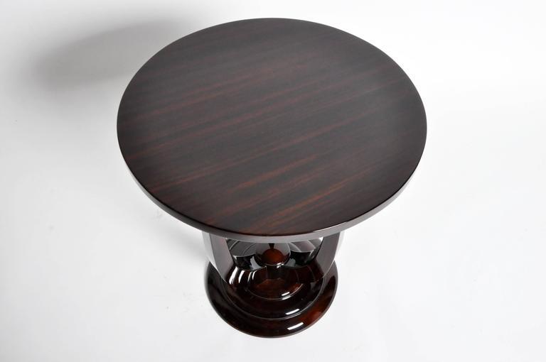 Veneer Mid-Century Style Side Tables For Sale
