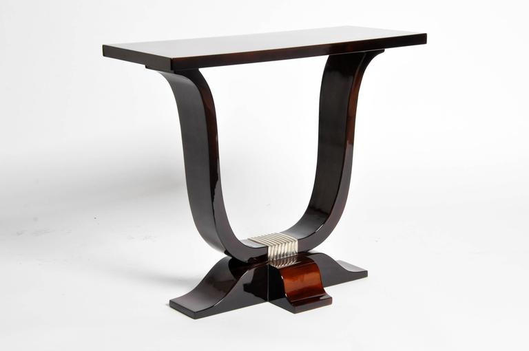 Veneer Hungarian Art Deco Style Table For Sale