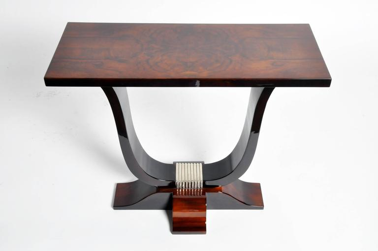 Hungarian Art Deco Style Table In Good Condition For Sale In Chicago, IL