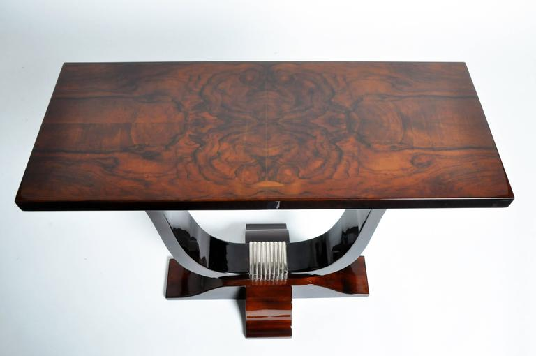 Contemporary Hungarian Art Deco Style Table For Sale