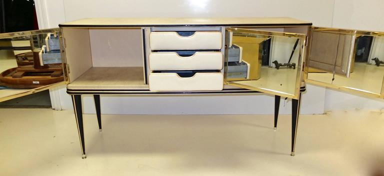 Umberto Mascagni Three-Door Sideboard For Sale 1