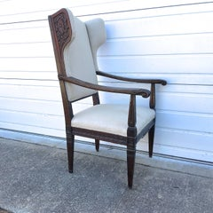 18th Century Italian Wing Chair
