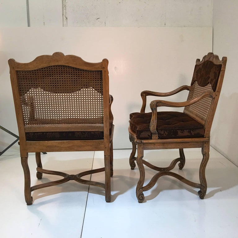 Louis XV Set of Ten Don Ruseau Dining Chairs For Sale