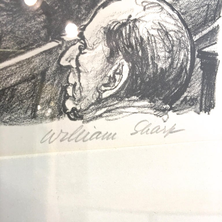 American William Sharp Lithograph of United States Supreme Court For Sale