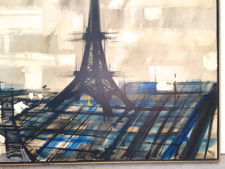 Eiffel Tower Painting by Lee Reynolds For Sale 3