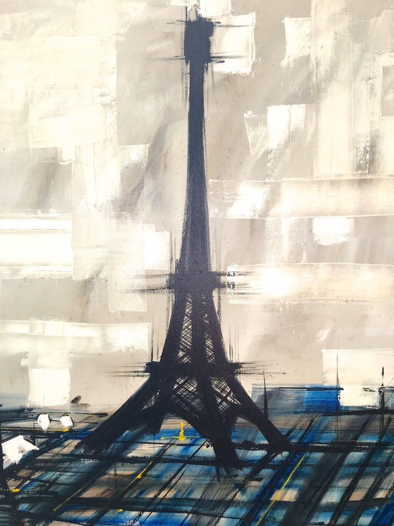 Eiffel Tower Painting by Lee Reynolds For Sale 5