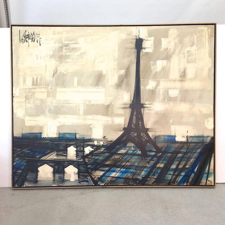 Eiffel Tower Painting by Lee Reynolds For Sale 7