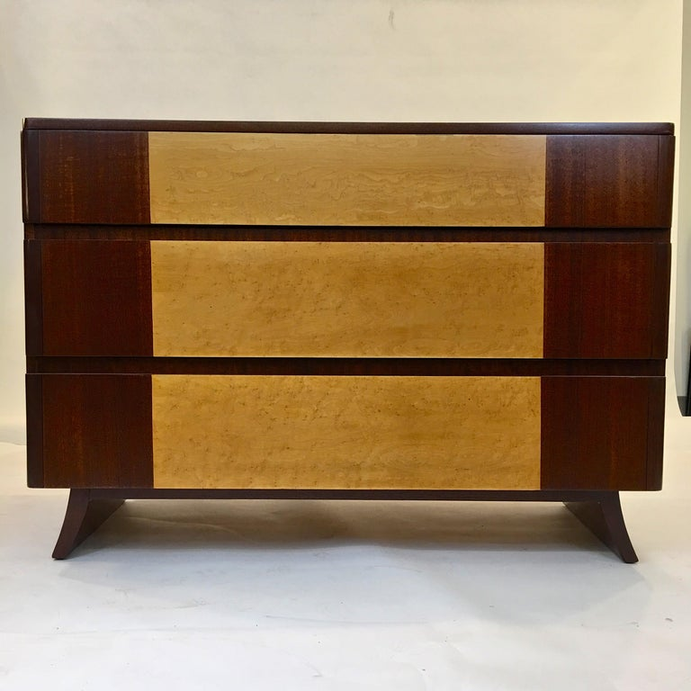 American Art Deco Chest of Drawers by R-Way In Excellent Condition For Sale In Hingham, MA