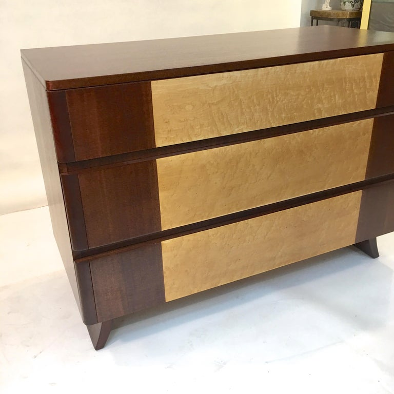 American Art Deco Chest of Drawers by R-Way For Sale 4