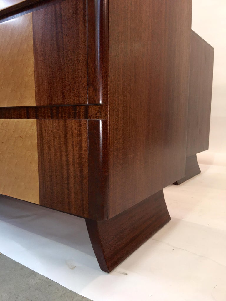 American Art Deco Tall Chest of Drawers by R-Way For Sale 10