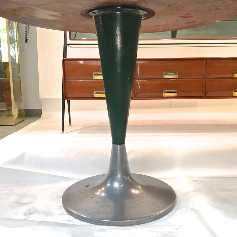 Mid-20th Century Vintage Brunswick Bowling Centre Pedestal Tables For Sale