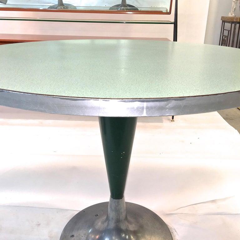Vintage Brunswick Bowling Centre Pedestal Tables For Sale 2