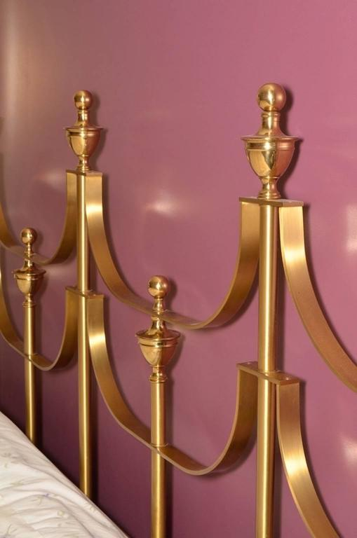 Mastercraft King-Size Brass Headboard by Joseph Braswell and Inman Cook 3
