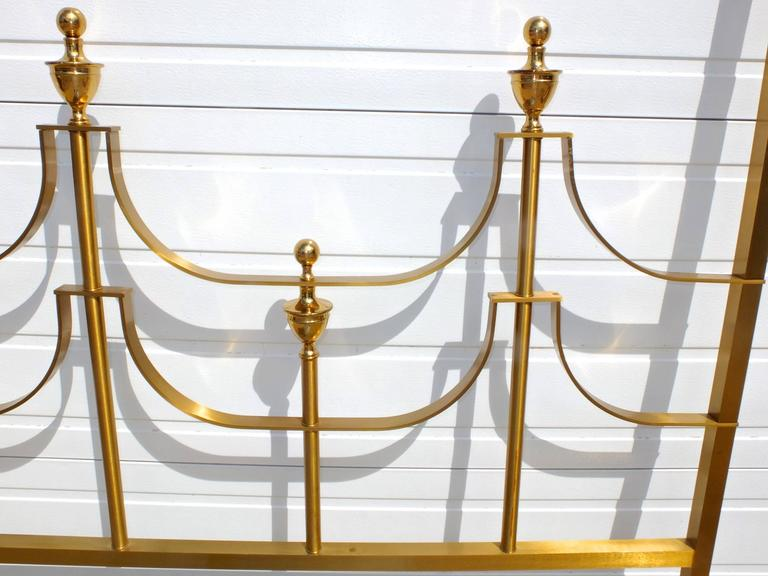 Mastercraft King-Size Brass Headboard by Joseph Braswell and Inman Cook 6