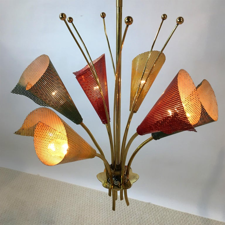 Kobis & Lorence Chandelier In Good Condition For Sale In Hingham, MA