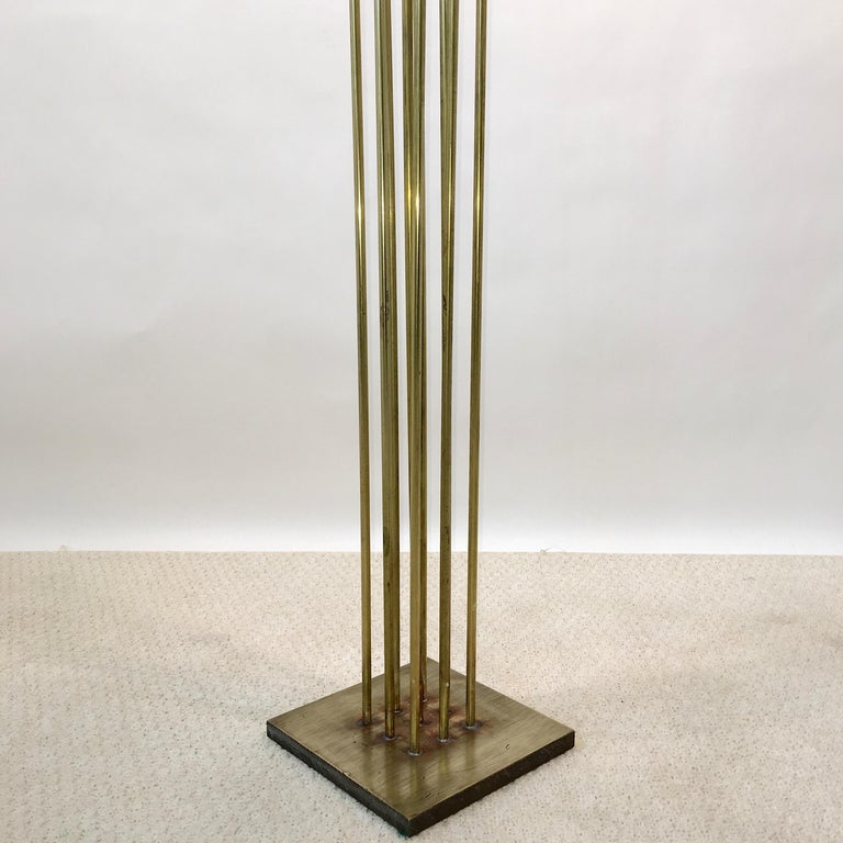 Contemporary 9-Rod Brass Kinetic Sculpture For Sale 10