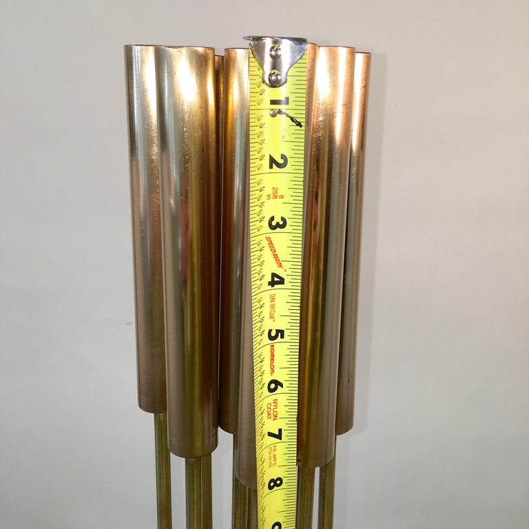 Contemporary 9-Rod Brass Kinetic Sculpture For Sale 13