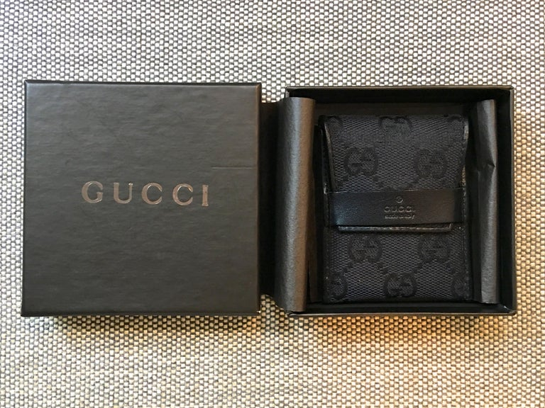 Leather Gucci Condom Wallet For Sale
