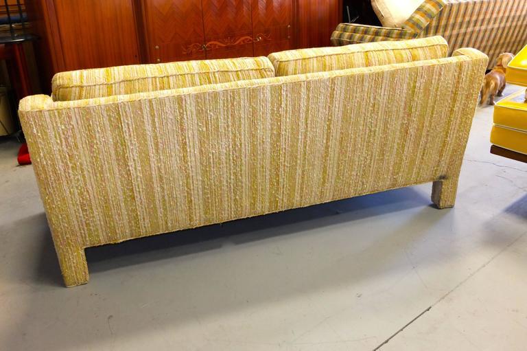 American Edward Wormley for Dunbar Love Seat Sofa For Sale