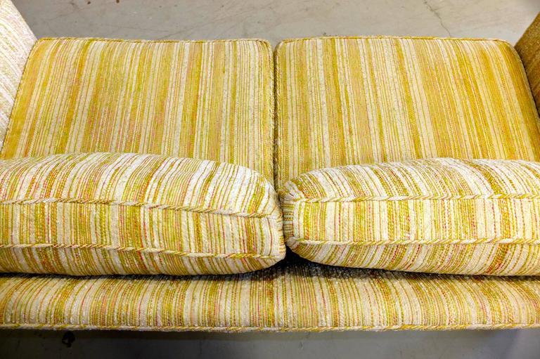 Edward Wormley for Dunbar Love Seat Sofa For Sale 1