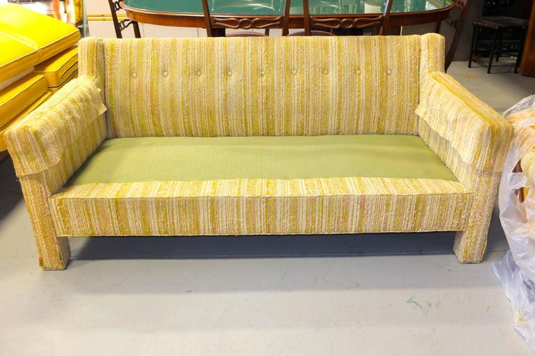 Mid-Century Modern Edward Wormley for Dunbar Love Seat Sofa For Sale