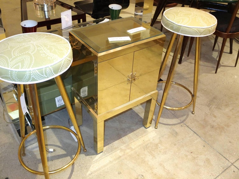 Brass Clad Cabinet 9