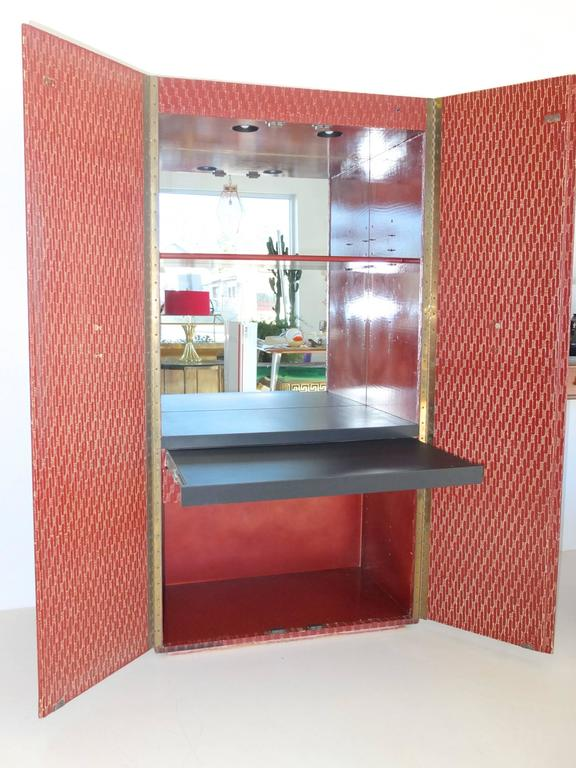 Mid-20th Century Charak Modern Bar Cabinet For Sale