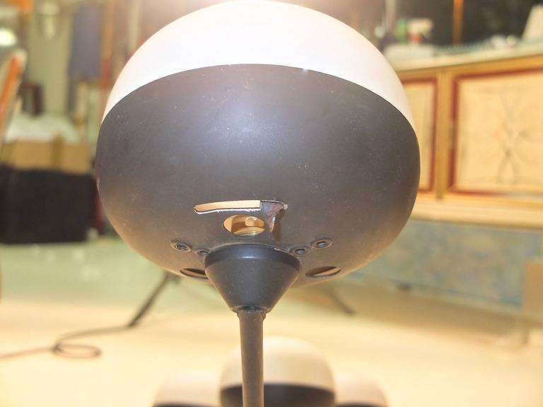 Rare Asymmetric Ceiling or Wall Lamp by Maison Arlus In Good Condition For Sale In Hingham, MA