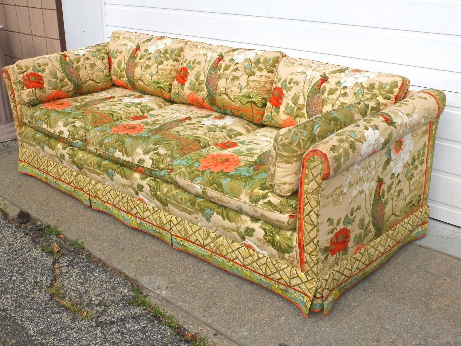 classic palm beach sofa and love seat for sale at 1stdibs