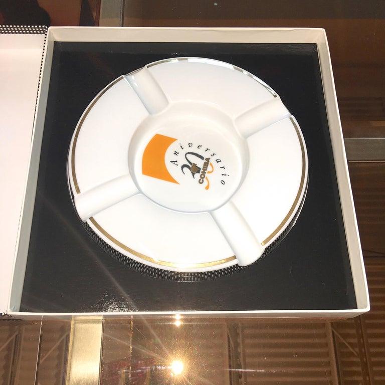 Mid-Century Modern Cohiba Special Edition 30th Anniversary Cigar Ashtray For Sale