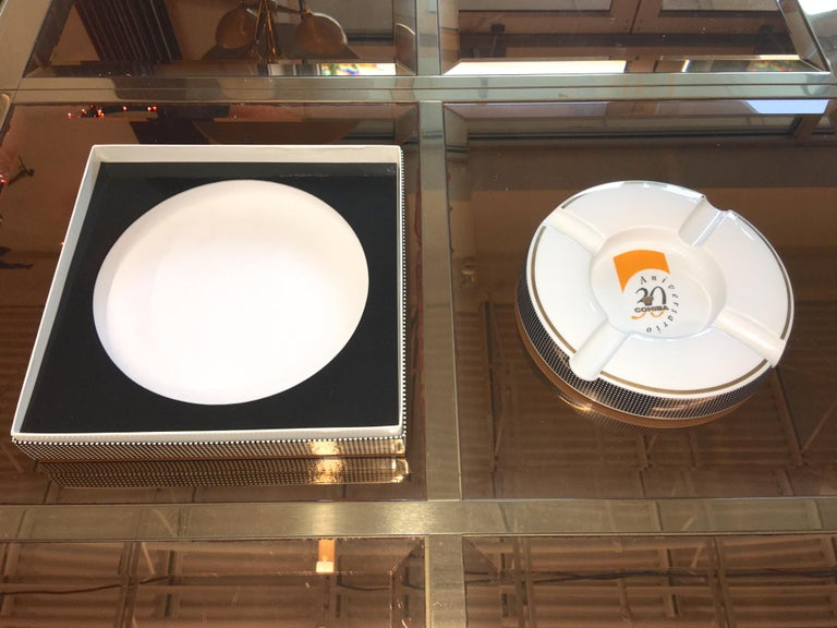 Cohiba Special Edition 30th Anniversary Cigar Ashtray In Excellent Condition For Sale In Hingham, MA
