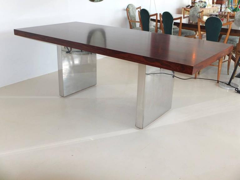 Dunbar Rosewood Executive Desk by Roger Sprunger For Sale ...