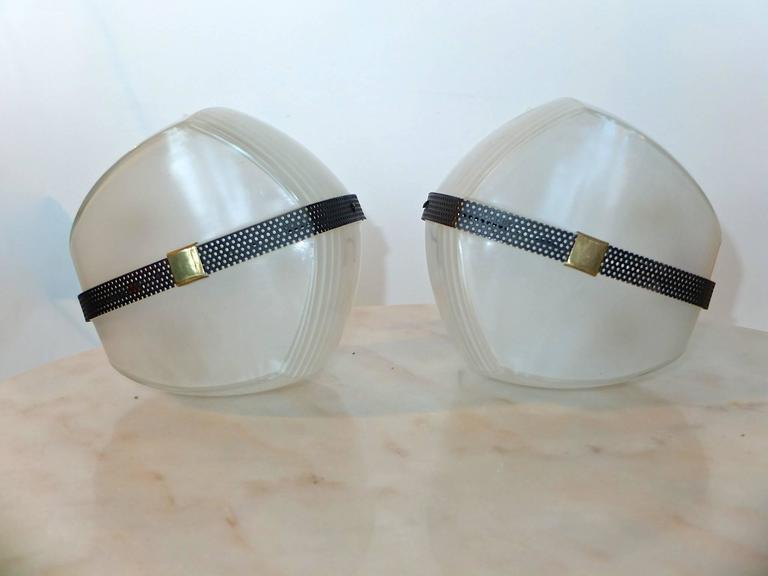 Pair of Omicron Sconces by Vico Magistretti for Artemide For Sale 3
