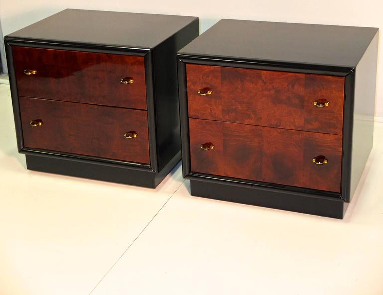 faux kitchen cabinets restored pair of henredon three nightstands for 3721