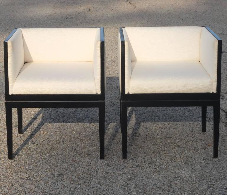 Eight Custom Dining Chairs by Juan Montoya For Sale 8