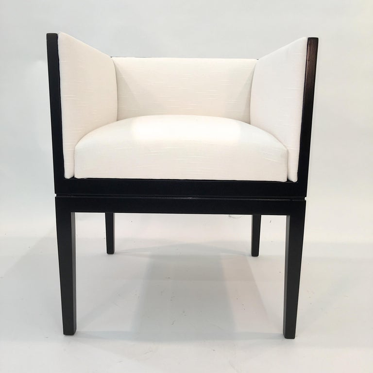 American Eight Custom Dining Chairs by Juan Montoya For Sale