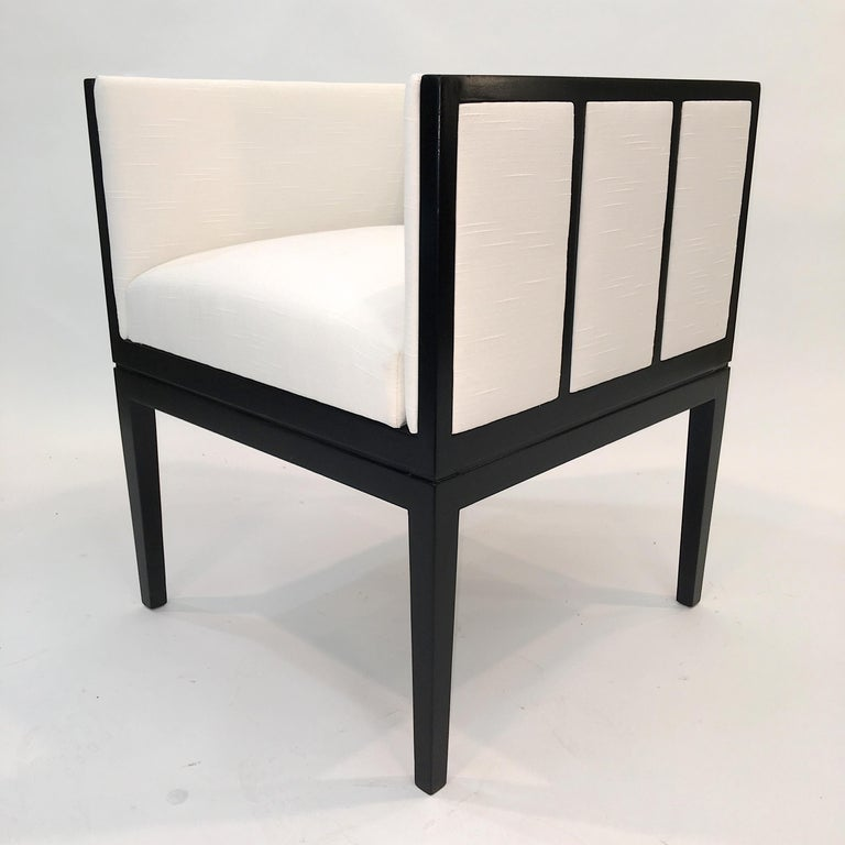 Eight Custom Dining Chairs by Juan Montoya For Sale 5