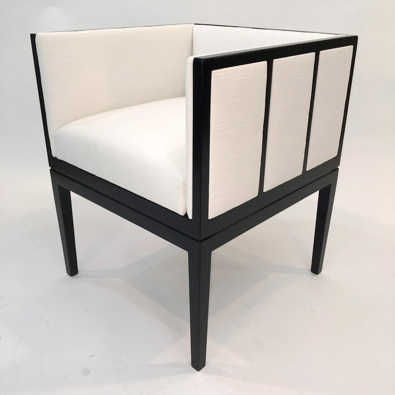 Eight Custom Dining Chairs by Juan Montoya For Sale 6