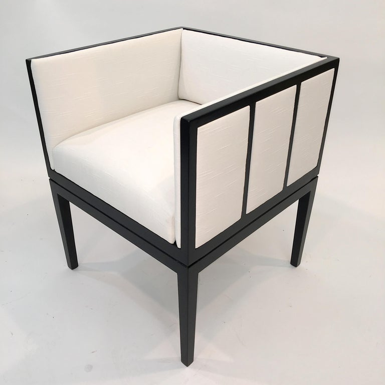 Eight Custom Dining Chairs by Juan Montoya For Sale 7