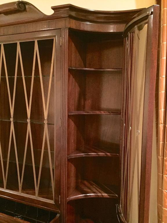 1940s Secretary by Lorin Jackson for Grosfeld House In Excellent Condition For Sale In Hingham, MA