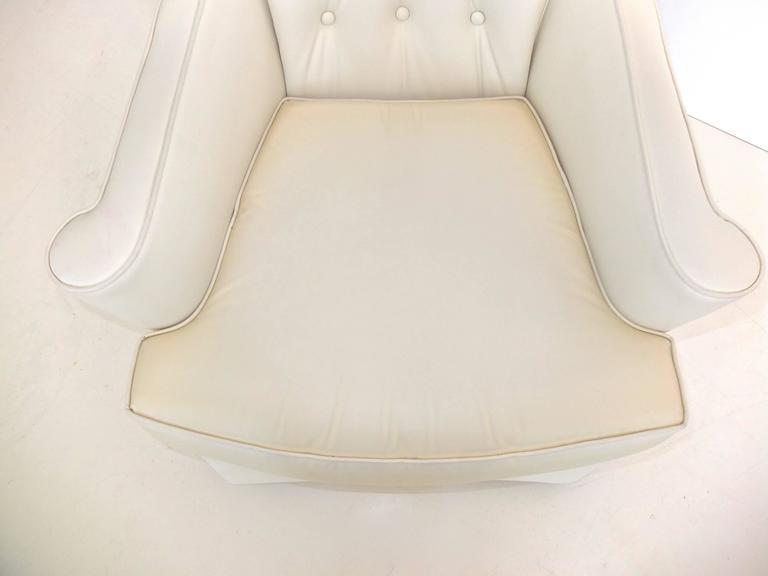 Hollywood Regency High Back Lounge Chair 8