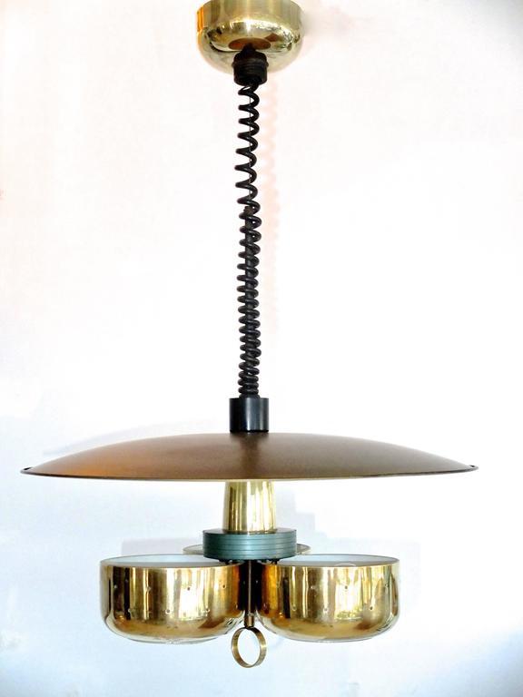 Gerald Thurston for Lightolier Pull-Down Pendant 9