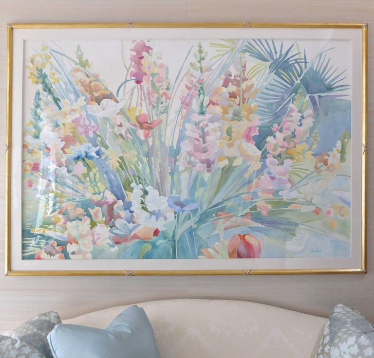 American Large-Scale Watercolor