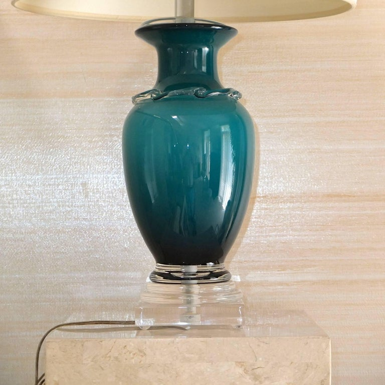 Frederick Cooper Glass Table Lamp 5