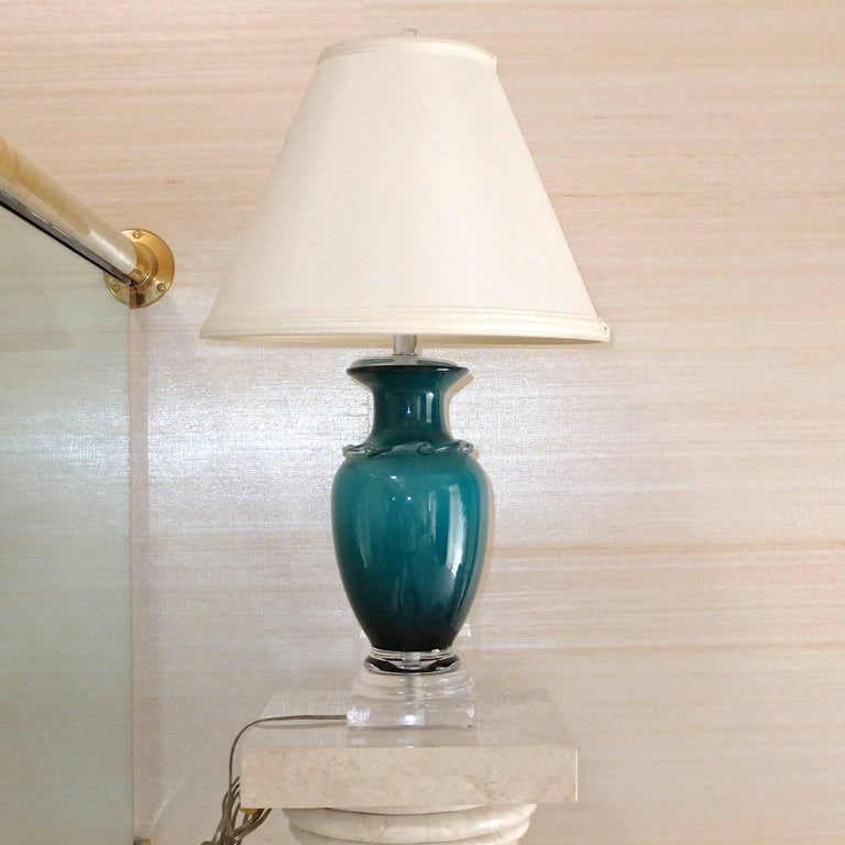 Frederick Cooper Glass Table Lamp 2