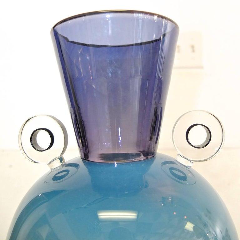 Alex Brand Signed Art Glass Vase 4