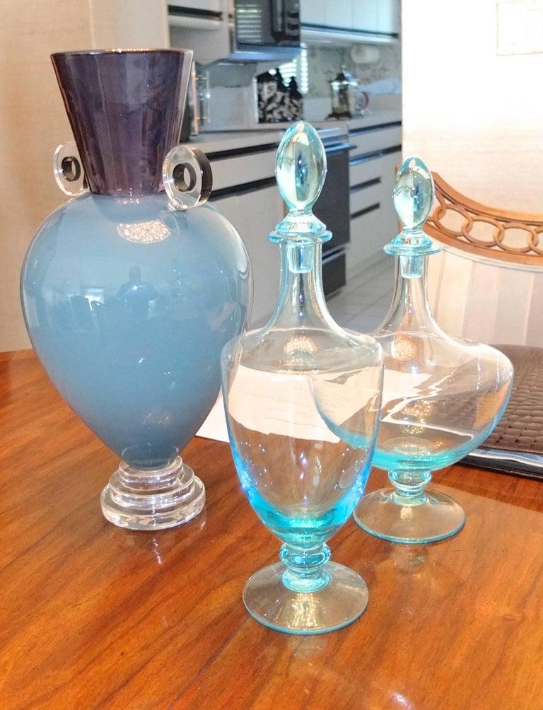 Alex Brand Signed Art Glass Vase 5
