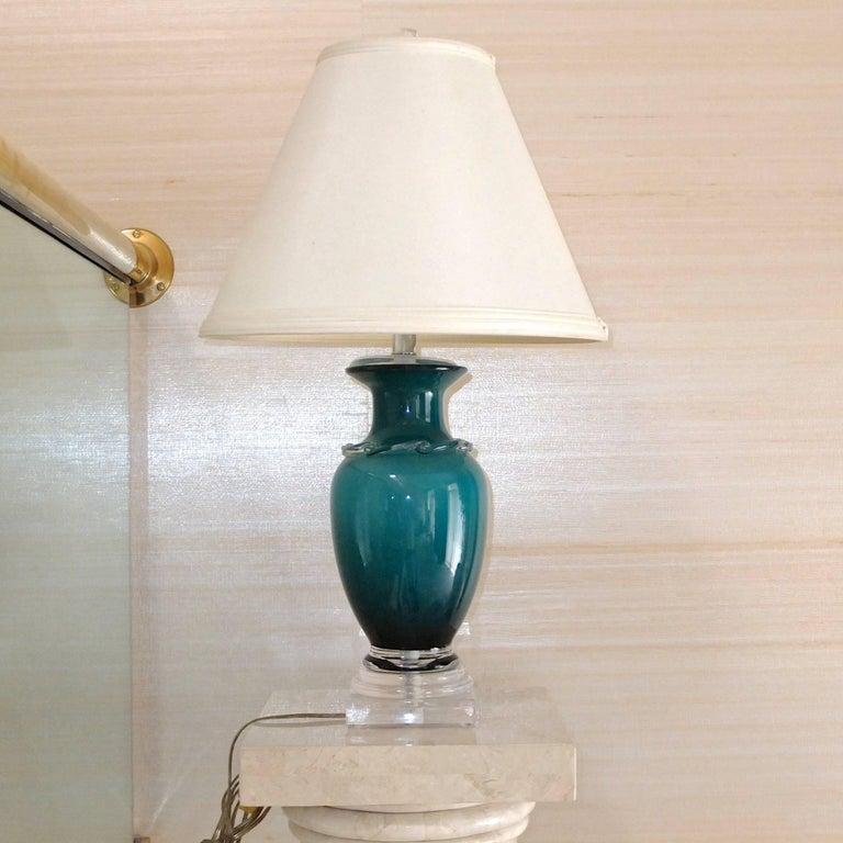 Alex Brand Signed Art Glass Vase 9