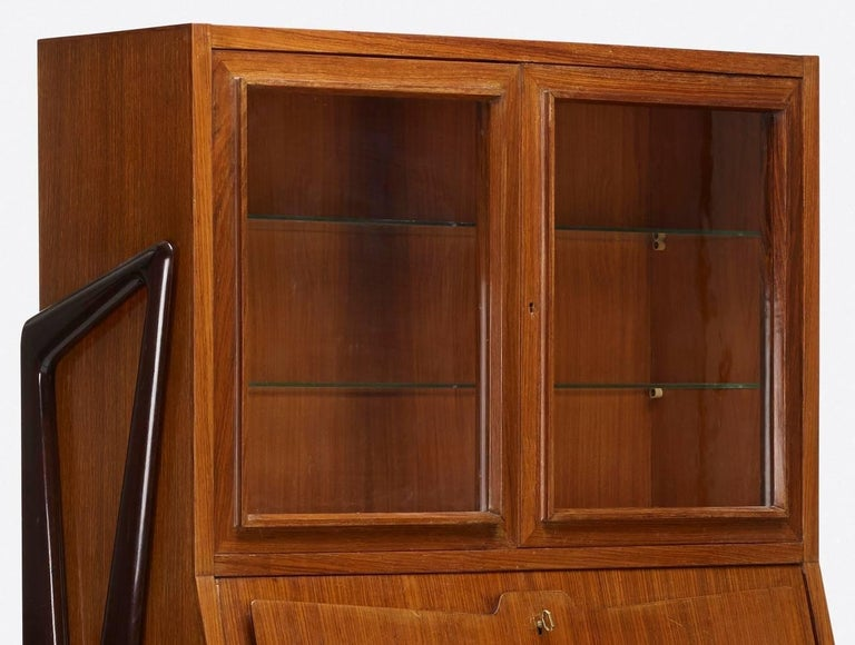 Ico Parisi Attributed Bar Cabinet Secretary For Sale 1